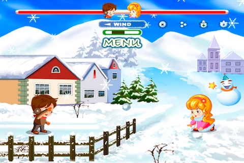 Screenshot Addictive Snow Ball Fight