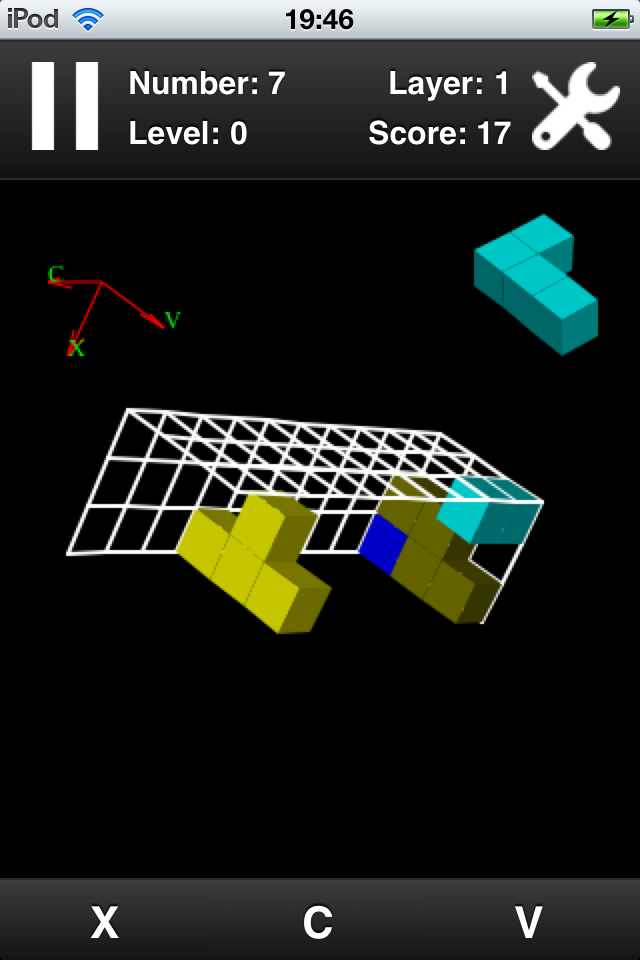 Screenshot 3D Tet